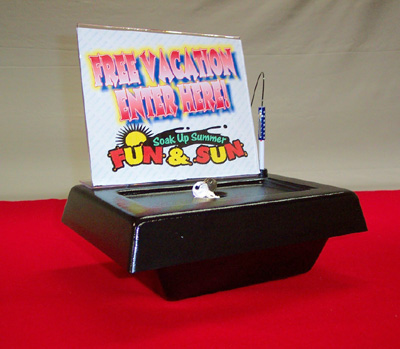 little black contest box for sales leads marketing promotion and